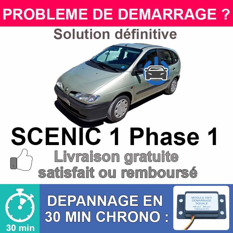 Module de désactivation d'anti démarrage pour renault scenic 1 phase 1.