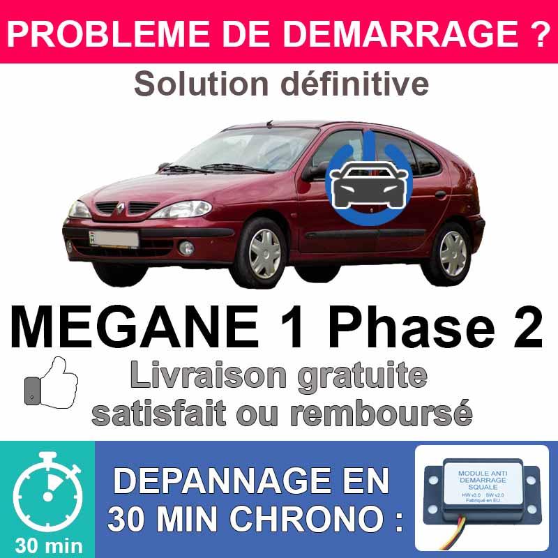 Module de désactivation d'anti démarrage pour renault megane 1 phase 2.
