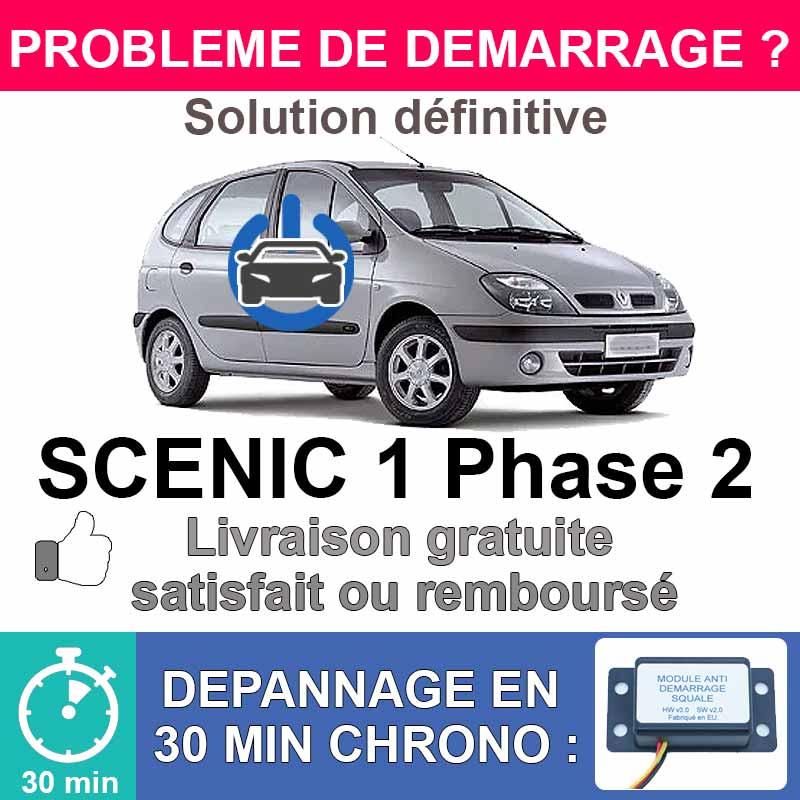 Module de désactivation d'anti démarrage pour renault scenic 1 phase 2.