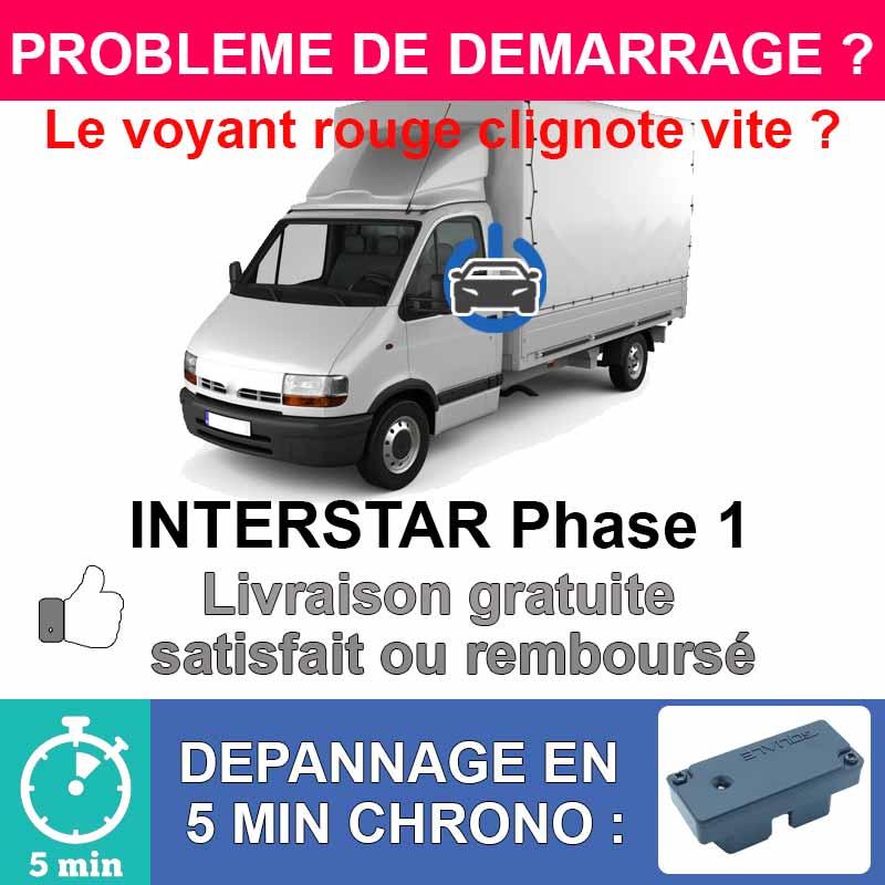 Clé de désactivation d'anti démarrage pour nissan interstar phase 1