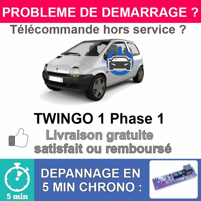 Kit de démarrage twingostart réparation anti demarrage Twingo 1